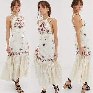 Free People Chrysanthemum Maxi Dress